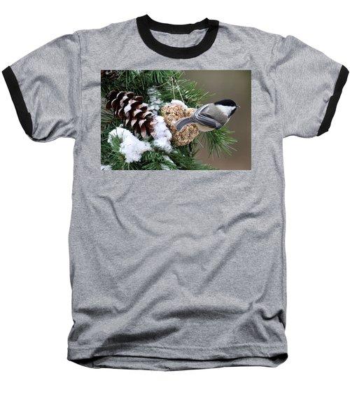 Feeding Feathered Friends Baseball T-Shirt