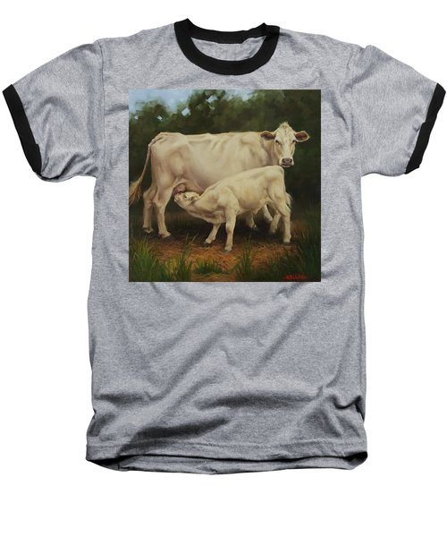 Feeding In The Forest Baseball T-Shirt