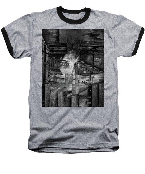 Feel Me Baseball T-Shirt