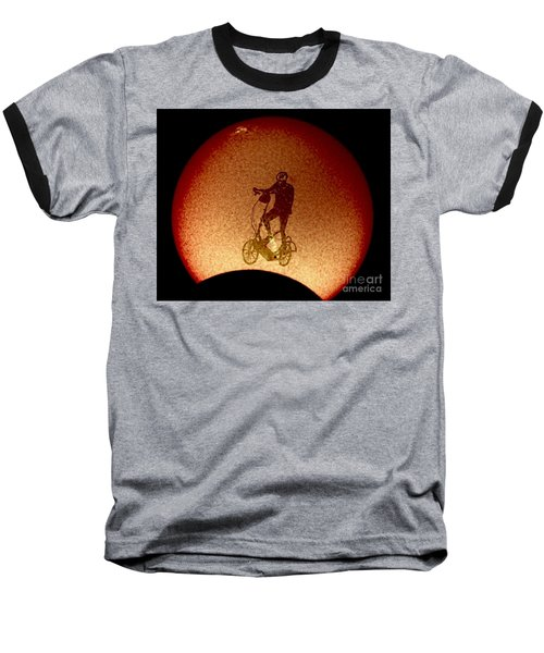 Feel The Burn, Elliptigo Eclipse Baseball T-Shirt
