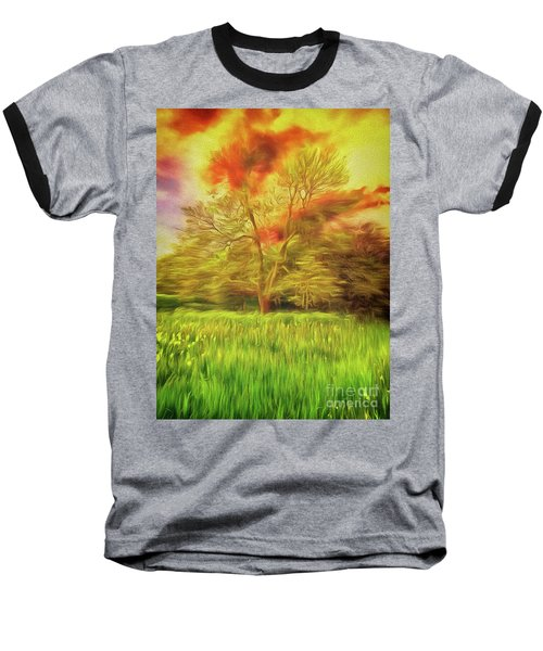 Feel The Love Baseball T-Shirt