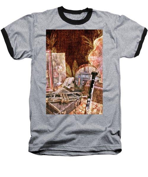 Feel The Music Baseball T-Shirt