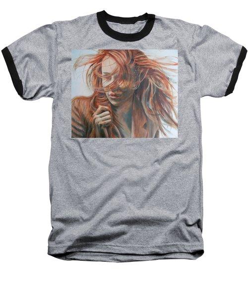 Feel The Wind Baseball T-Shirt