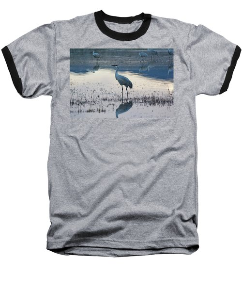 Feeling Blue Baseball T-Shirt