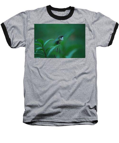 Feeling Green Baseball T-Shirt by Lori Tambakis