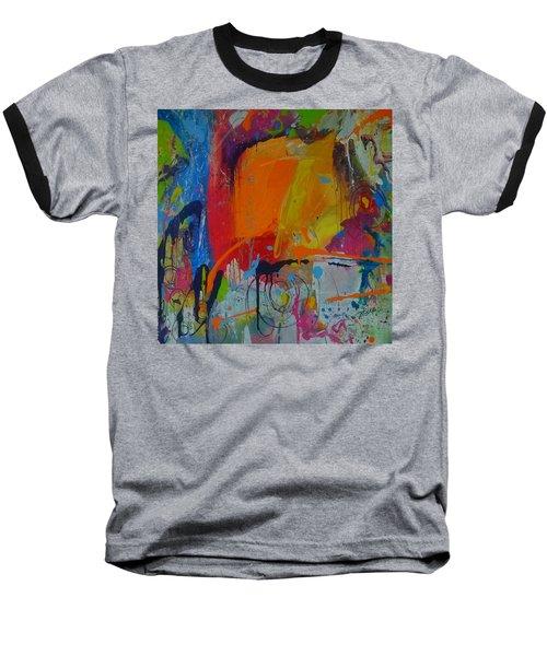 Feeling Melancholy Baseball T-Shirt by Terri Einer