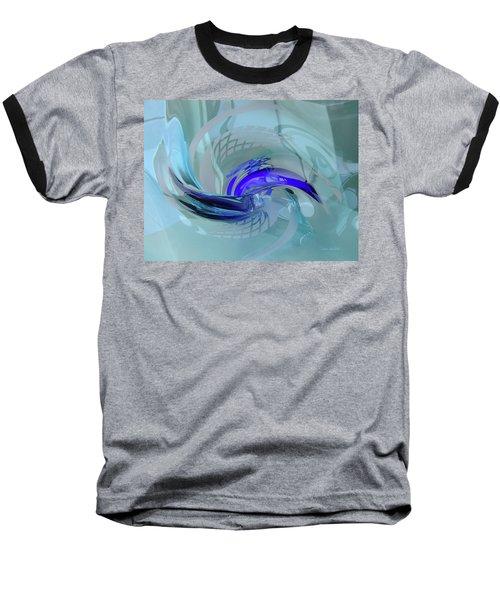 Feeling Tiffany Blue Baseball T-Shirt by Donna Blackhall