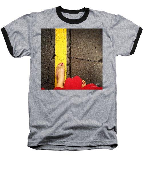 Feet Around The World #27 Baseball T-Shirt