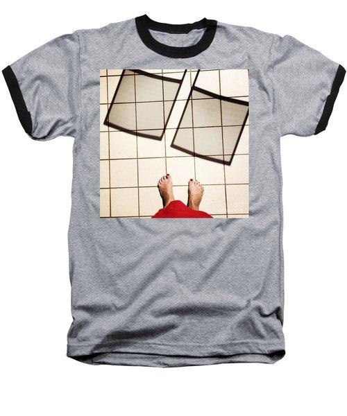 Feet Around The World #28 Baseball T-Shirt