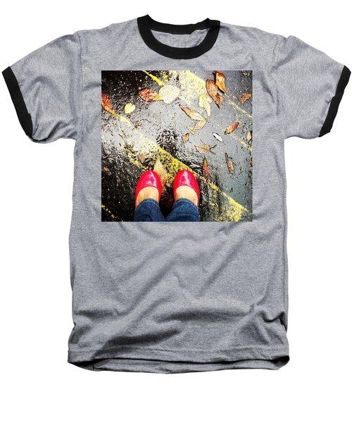 Feet Around The World #29 Baseball T-Shirt