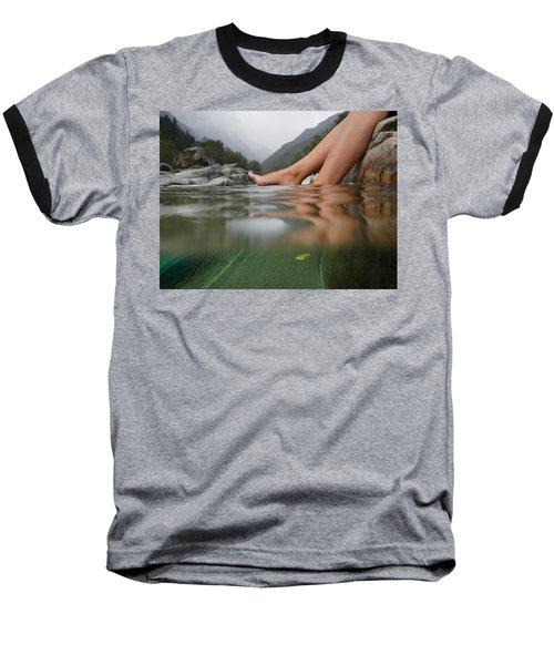 Feet On The Water Baseball T-Shirt