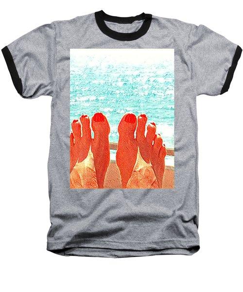 Feets Don't Fail Me Now Baseball T-Shirt