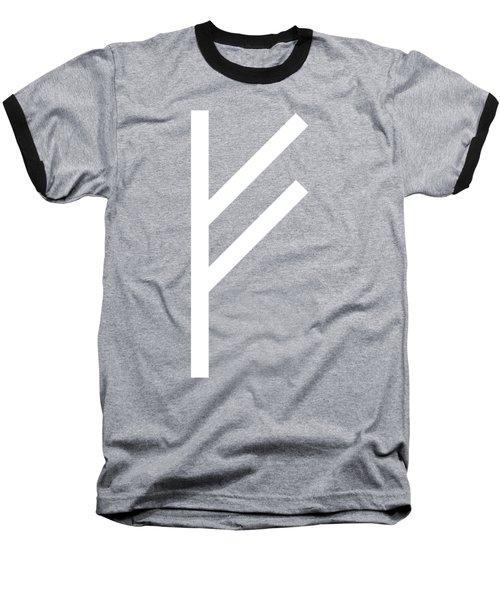 Fehu Rune Baseball T-Shirt