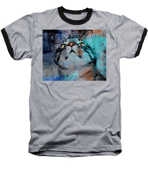 Feline Focus Baseball T-Shirt