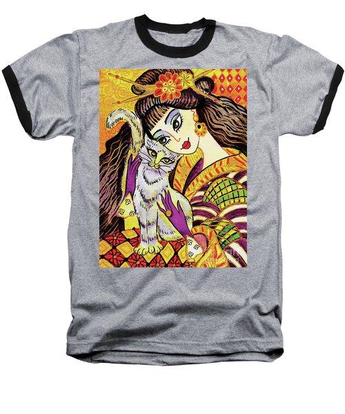 Feline Rhapsody Baseball T-Shirt