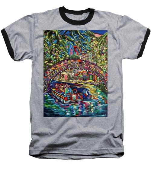 Feliz Navidad San Antonio Baseball T-Shirt