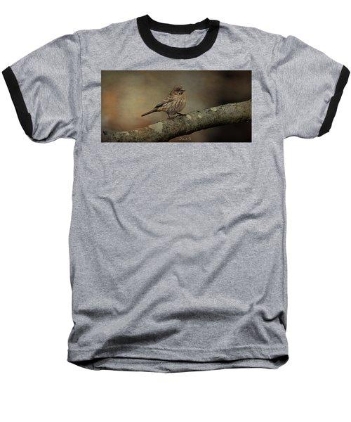 Female House Finch Baseball T-Shirt