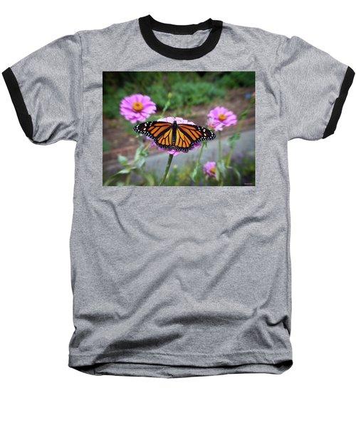 Female Monarch  Baseball T-Shirt