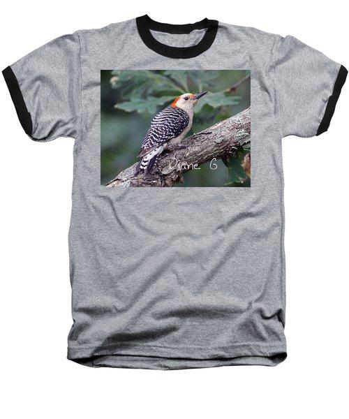 Female Red-bellied Woodpecker Baseball T-Shirt