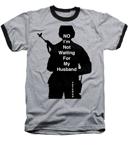 Baseball T-Shirt featuring the photograph Female Veteran by Melany Sarafis