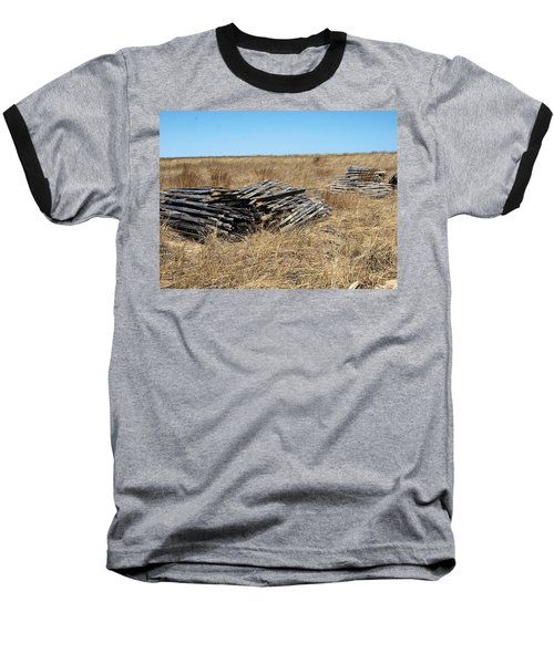 Fence Bails Baseball T-Shirt