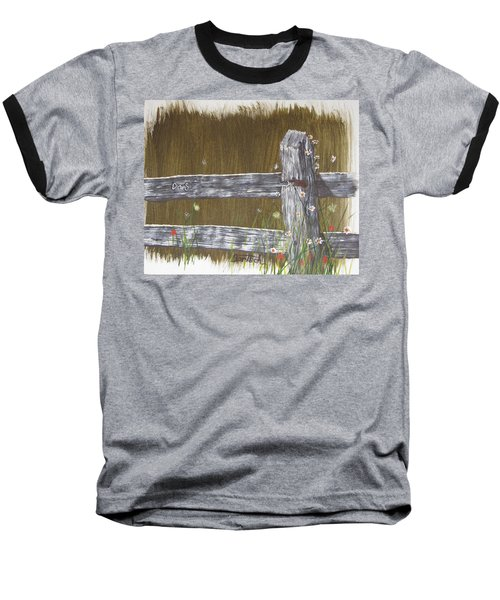 Fence D And S Baseball T-Shirt