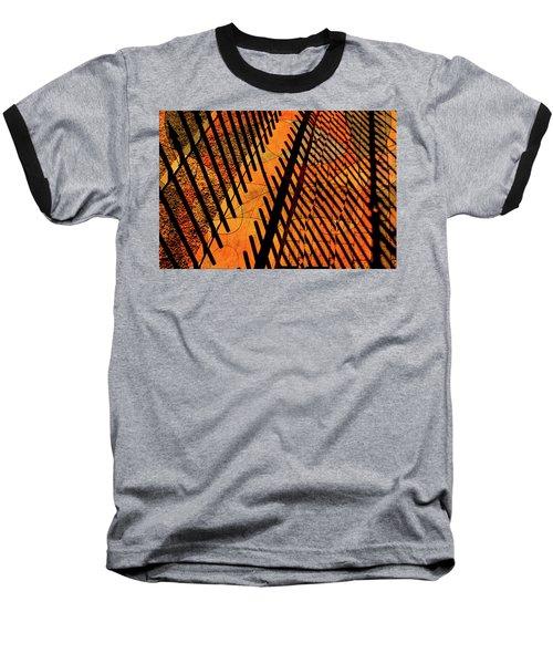 Fenced Framework Baseball T-Shirt