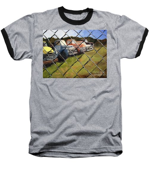 Fenced In Baseball T-Shirt
