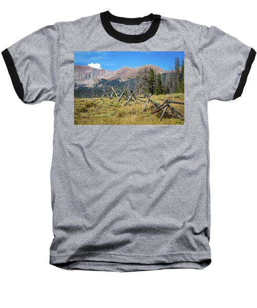 Fences Into The Rockies Baseball T-Shirt by Dawn Romine
