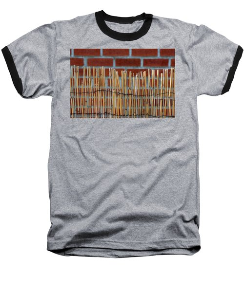 Fencing In The Wall Baseball T-Shirt