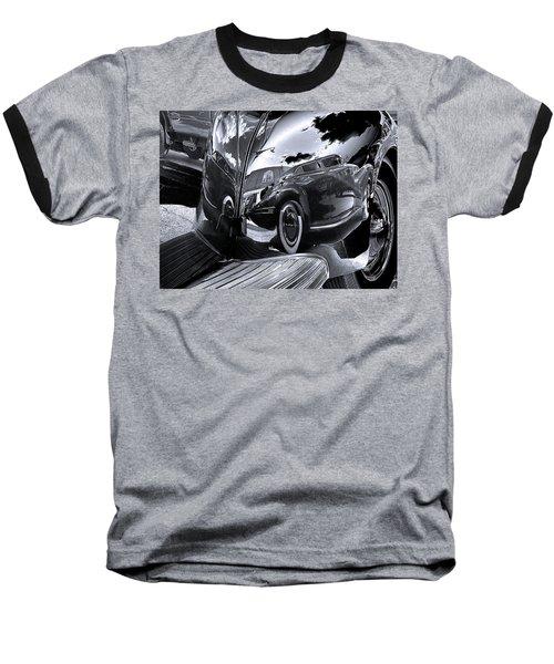 Fender Bender Baseball T-Shirt by Sue Stefanowicz