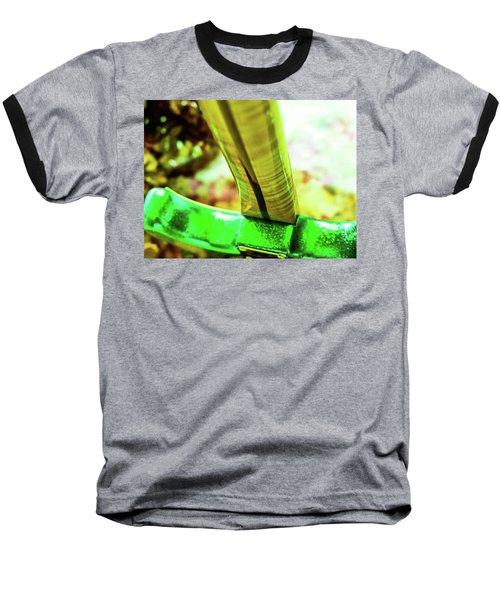 Custom Shop Stratocaster In Rare Green Sparkle Baseball T-Shirt