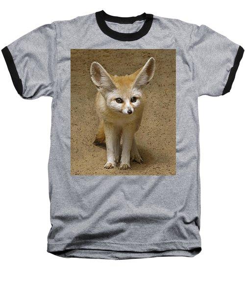 Fennec Fox Baseball T-Shirt
