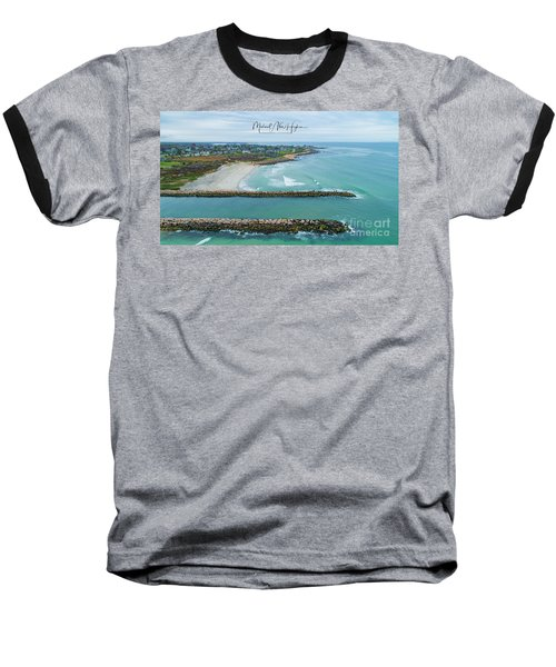 Fenway Beach, Weekapaug Baseball T-Shirt