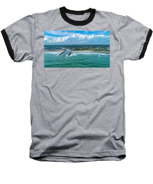 Fenway Beach, Weekapaug,ri Baseball T-Shirt