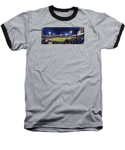 Fenway Night Baseball T-Shirt by Rick Berk