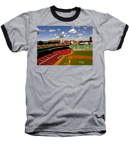 Baseball T-Shirt featuring the photograph Fenway Park Iv  Fenway Park  by Iconic Images Art Gallery David Pucciarelli