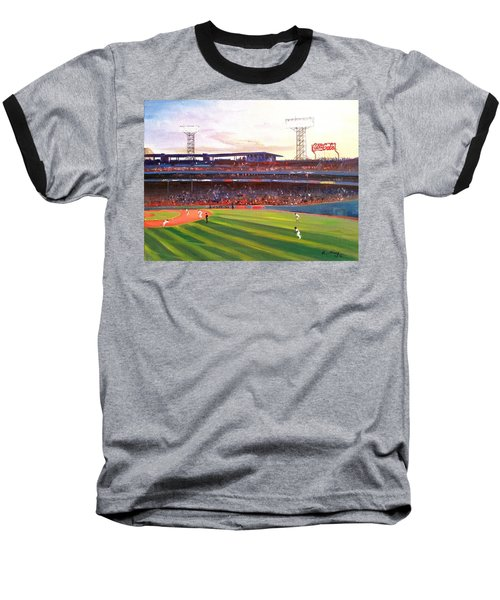 Fenway Park Baseball T-Shirt by Rose Wang