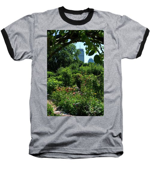 Fenway Victory Gardens In Boston Massachusetts  -30951-30952 Baseball T-Shirt