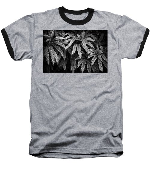 Fern And Shadow Baseball T-Shirt
