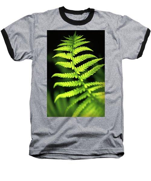 Fern Leaf Baseball T-Shirt
