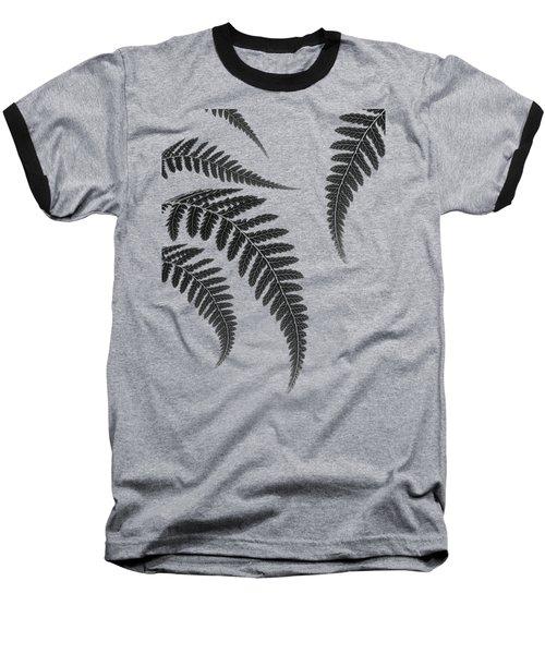 Fern Leaves Baseball T-Shirt