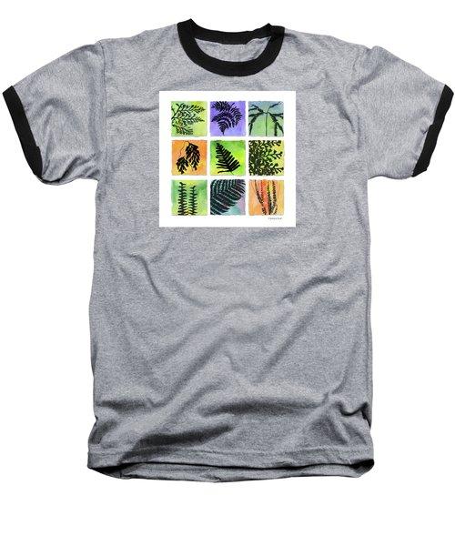 Ferns Of Hawaii Baseball T-Shirt