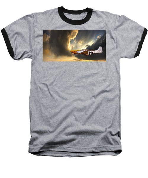 Ferocious Frankie Baseball T-Shirt