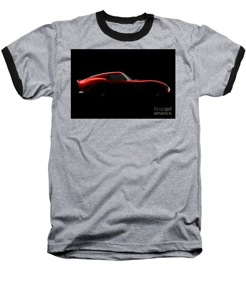 Ferrari 250 Gto - Side View Baseball T-Shirt