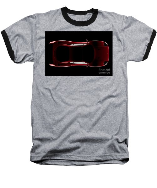 Ferrari F40 - Top View Baseball T-Shirt