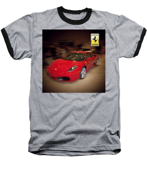 Ferrari F430 - The Red Beast Baseball T-Shirt