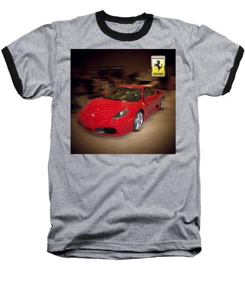 Ferrari F430 - The Red Beast Baseball T-Shirt