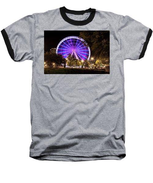 Ferris Wheel At Centennial Park 1 Baseball T-Shirt