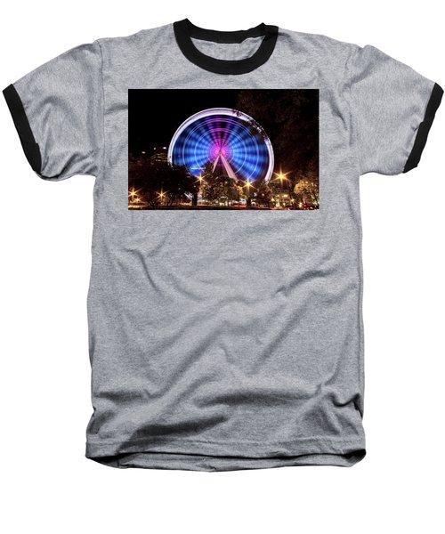Ferris Wheel At Centennial Park 2 Baseball T-Shirt